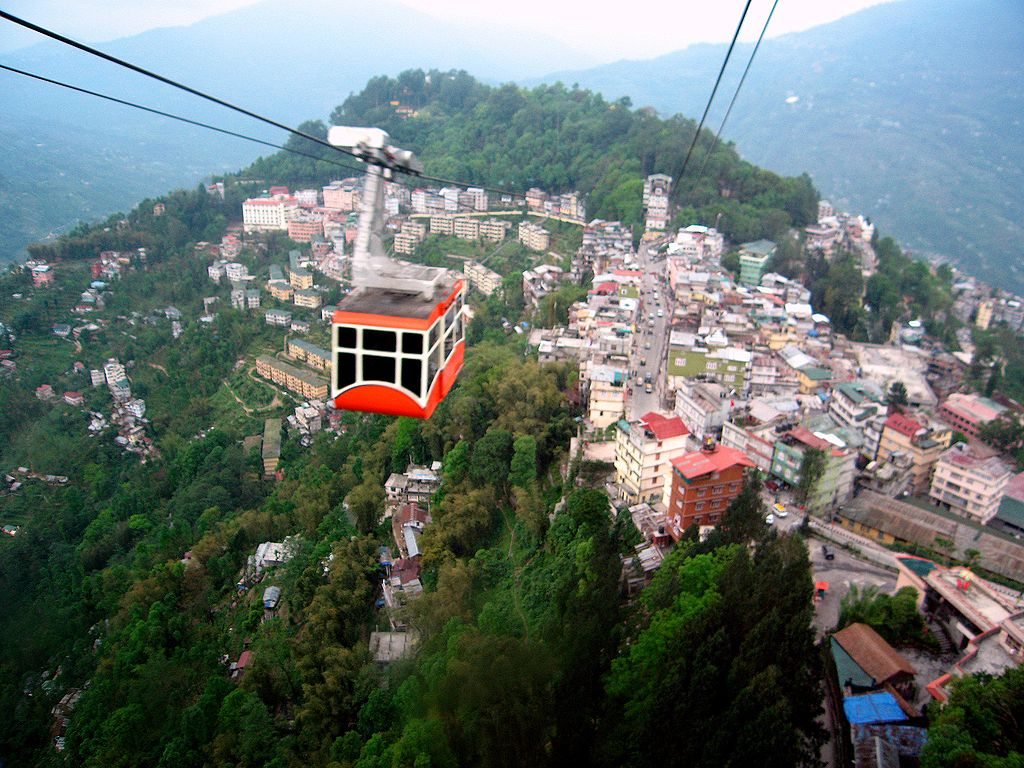 Ropeway Cable Car in Gangtok