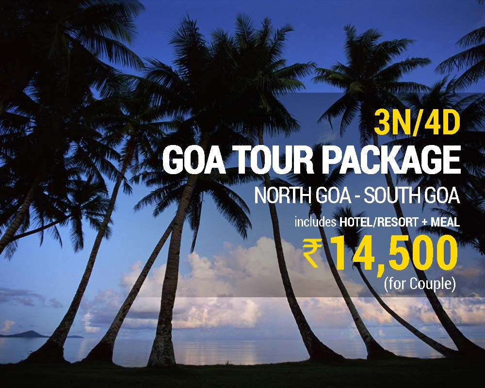 3 Nights 4 Days Goa Package