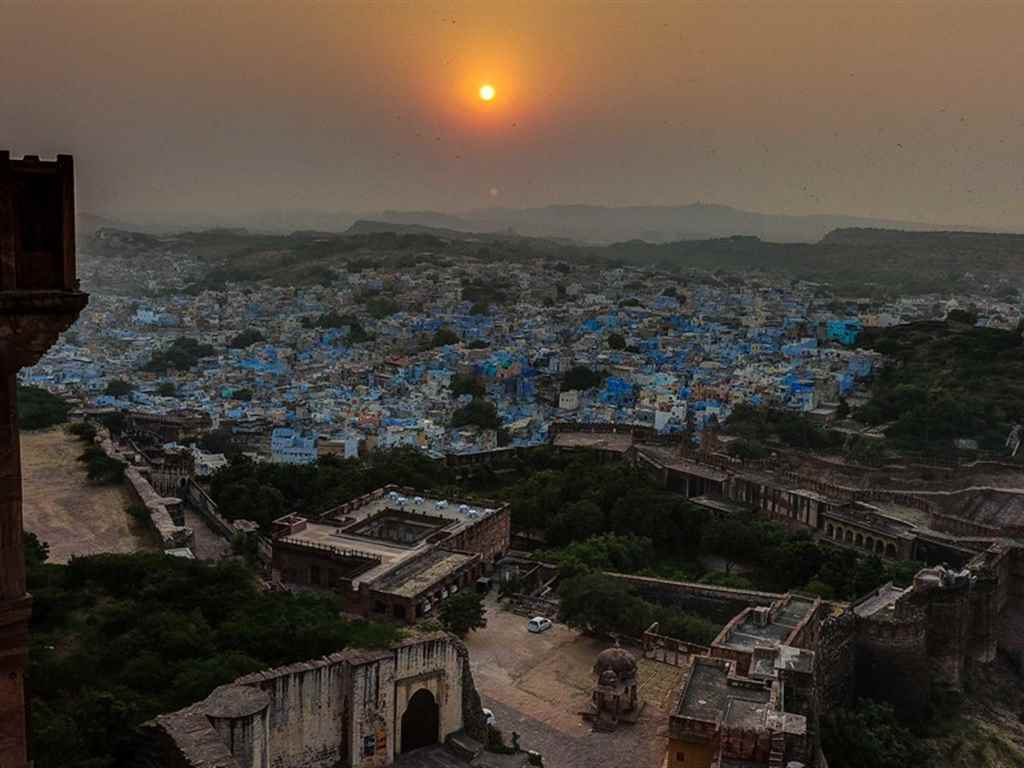 Spiritual tour of Blue City Jodhpur