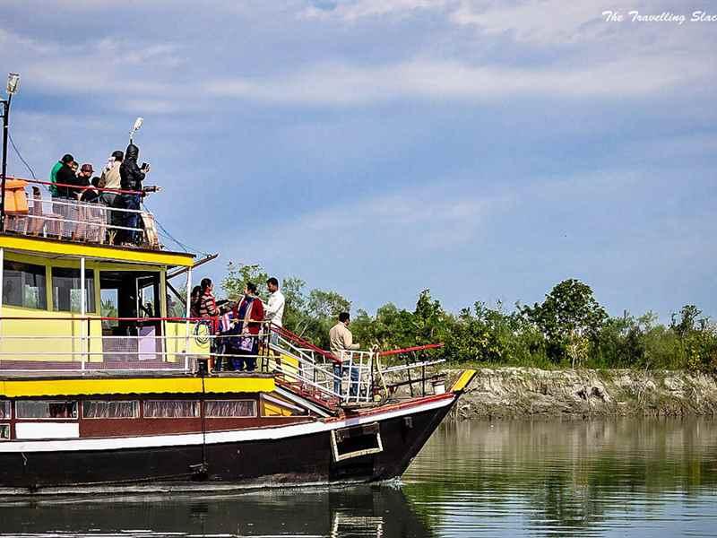 Brahmaputra River Cruise Ride in India