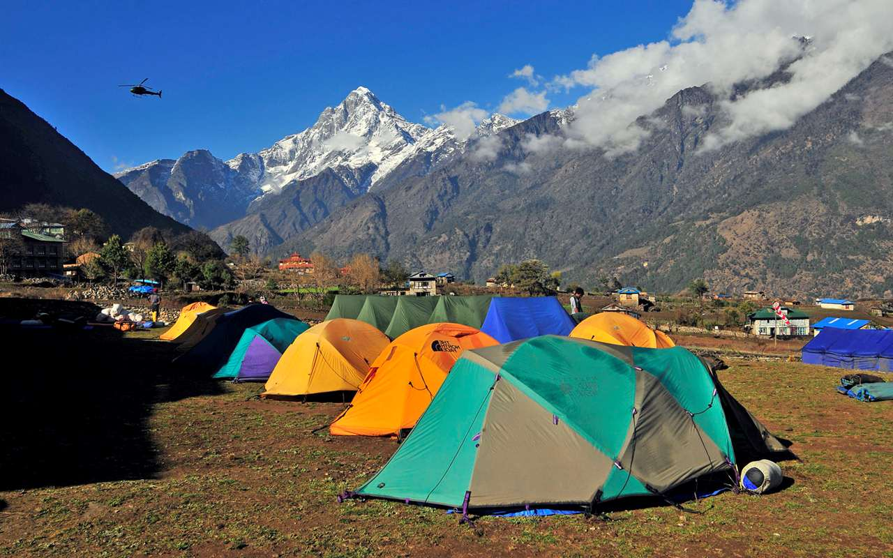 Camping and Trekking Places in India