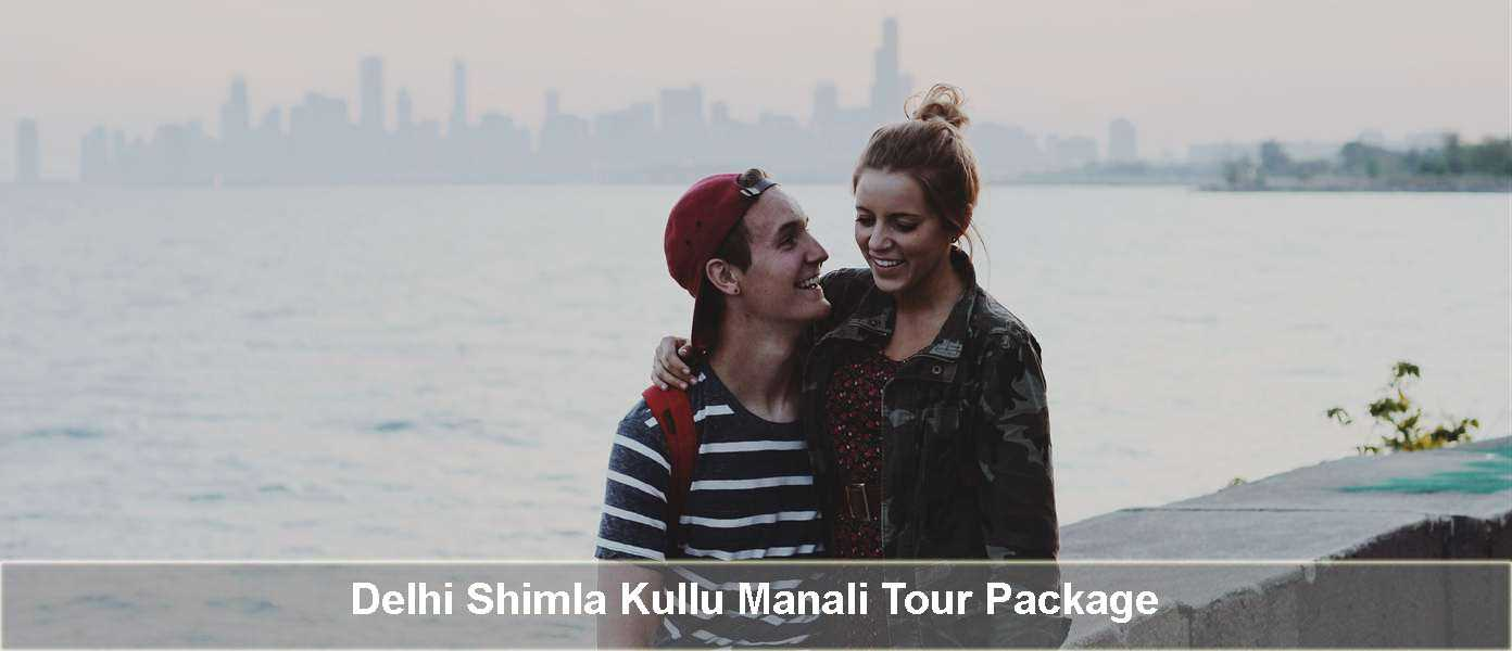 Delhi to Shimla Kullu Manali Tour Package