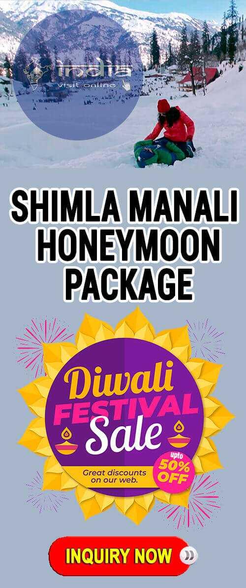Diwali Kullu Manali Honeymoon Package