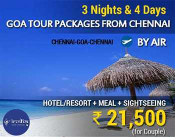 Goa Packages from Chennai