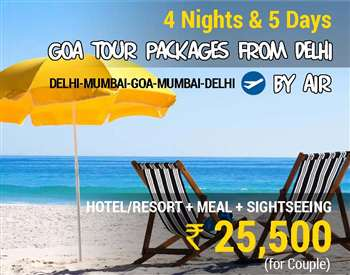 Goa Packages from Delhi