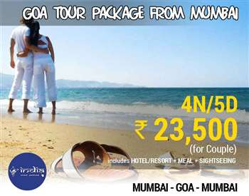 Goa Packages from Mumbai
