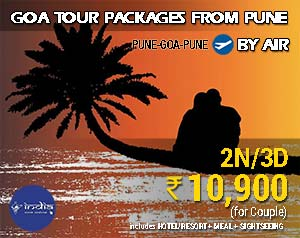 Goa Tour Packages from Pune