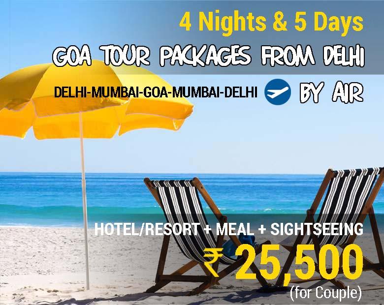 Goa-Tour-Packages-Delhi
