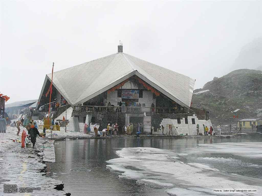 Hemkund Sahib Coldest Places in India