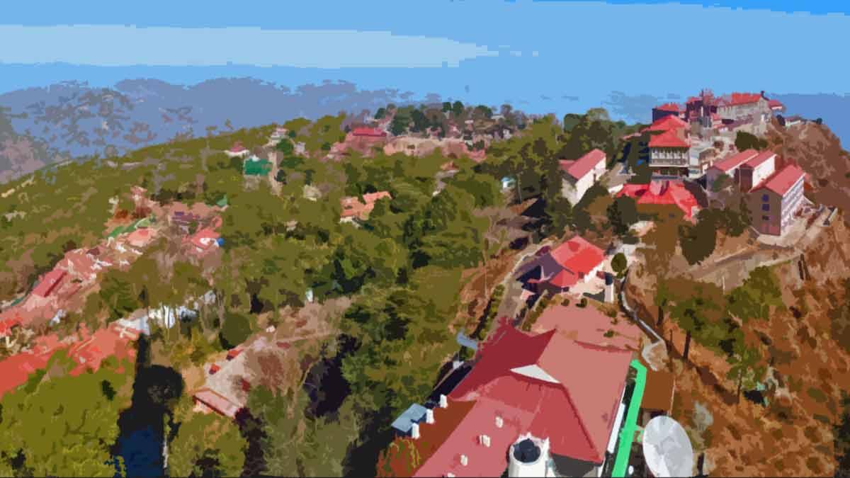 Kasauli Town Solan Himachal Pradesh
