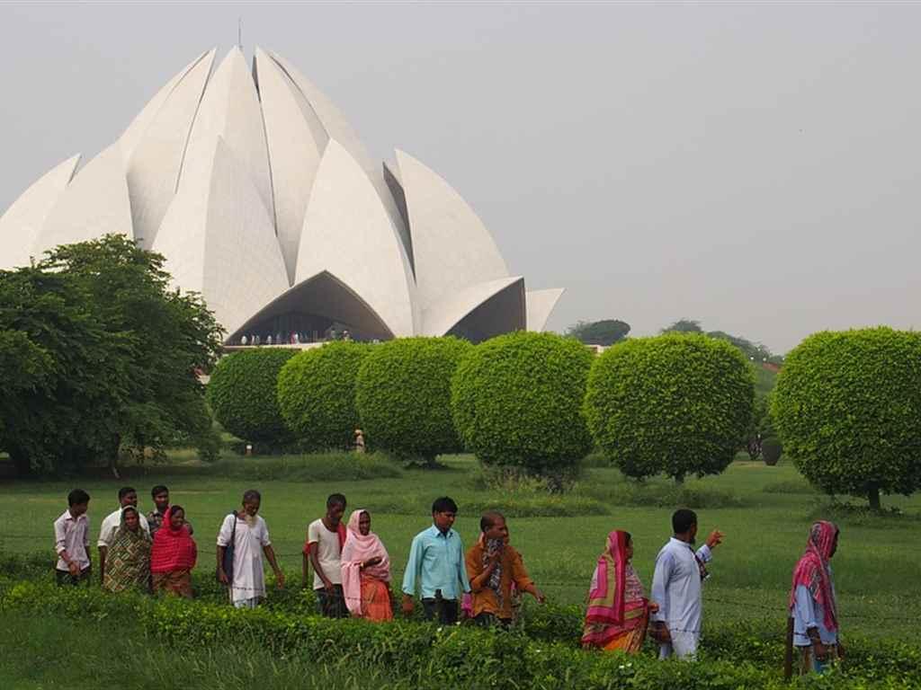 Lotus Temple Tourist Place