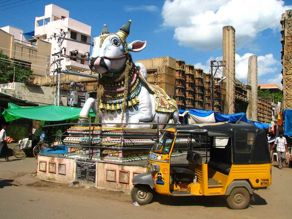 Madurai by Cycle Rickshaw tour
