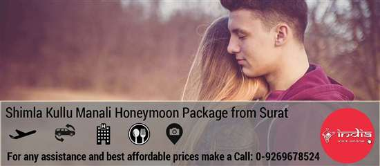 Shimla Manali Honeymoon Package from Surat