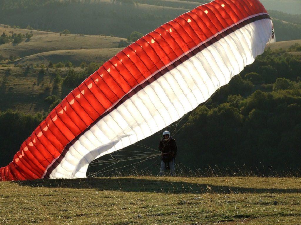 Parachute Wind Paragliding Sport Extreme Sport