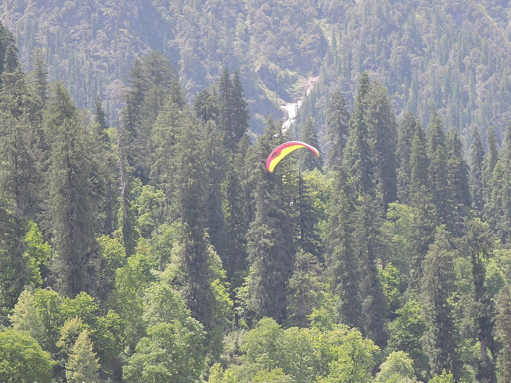 Paragliding Activities in Manali