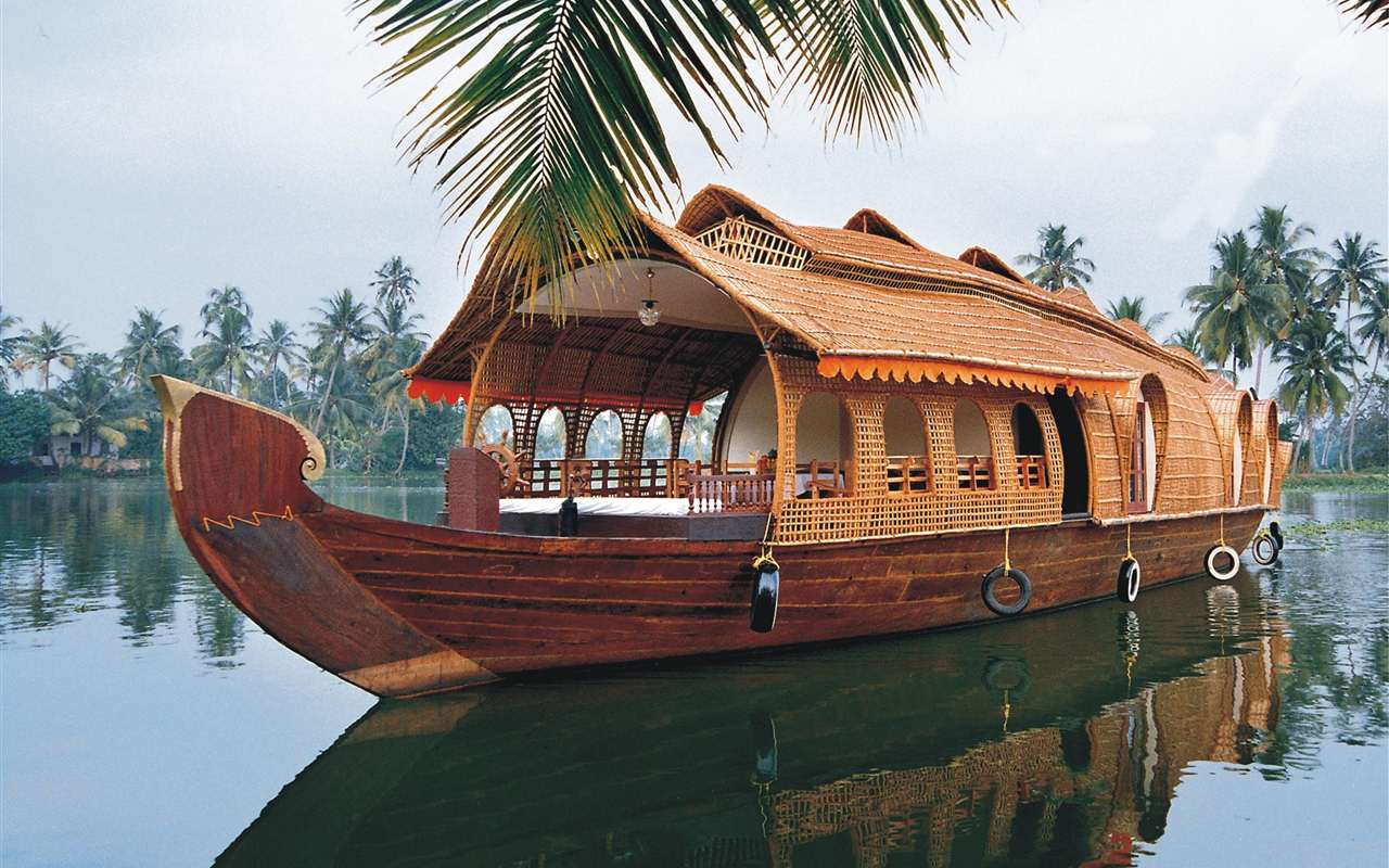 Backwater Cruise Ride in India