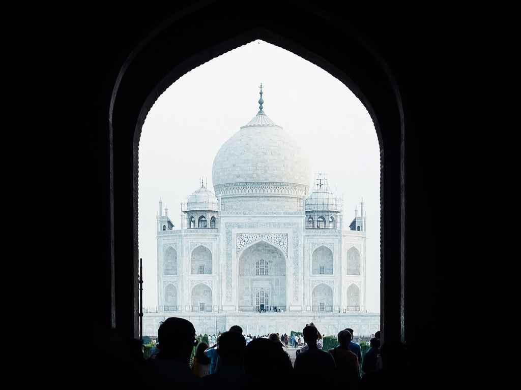 Taj Mahal Romantic Places in India