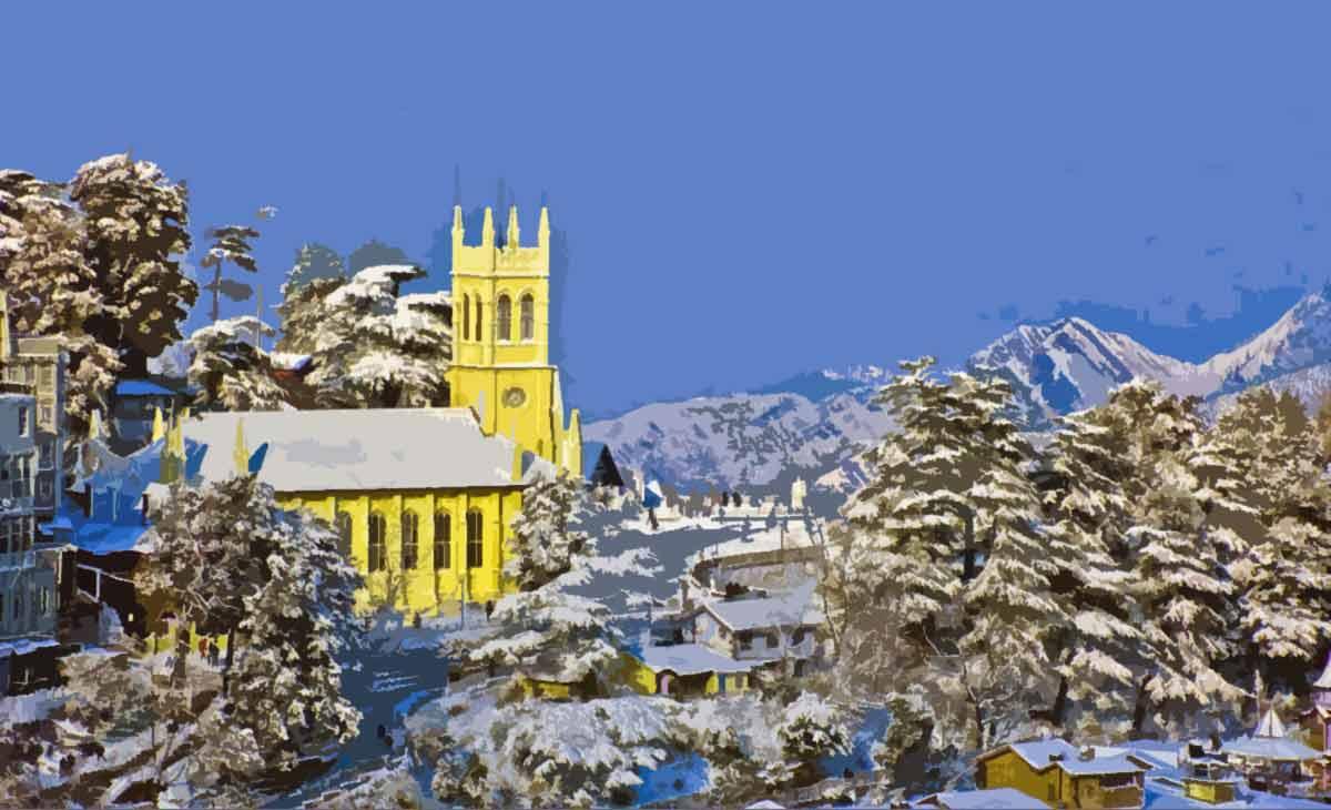 Shimla capital of Himachal Pradesh
