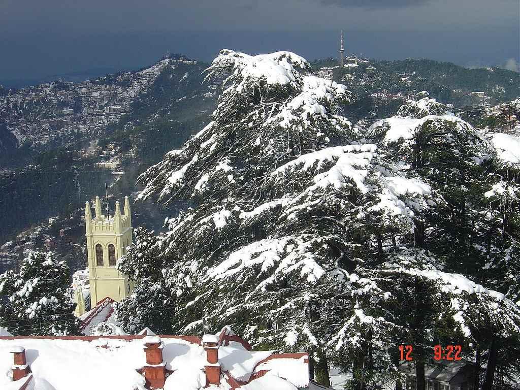 Shimla Winter Holiday Destinations