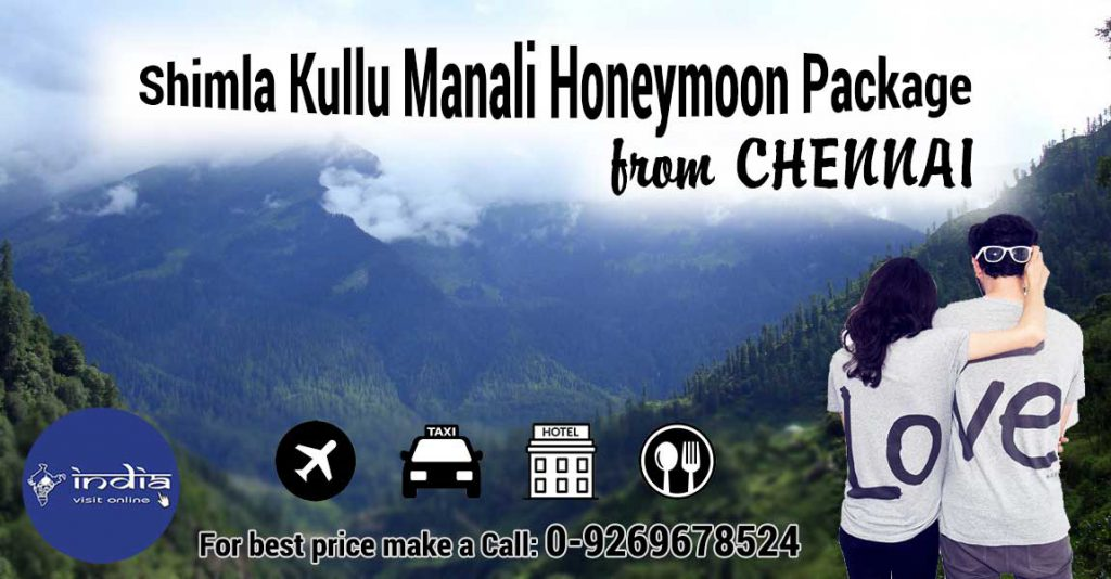 Shimla-Kullu-Manali-Honeymoon-Package-from-Chennai