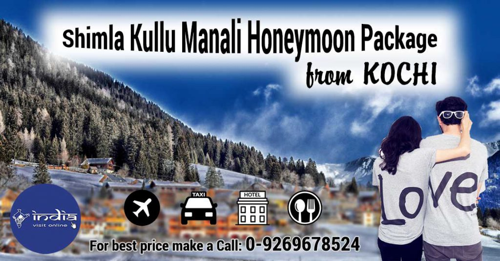 Shimla-Kullu-Manali-Honeymoon-Package-from-Cochin