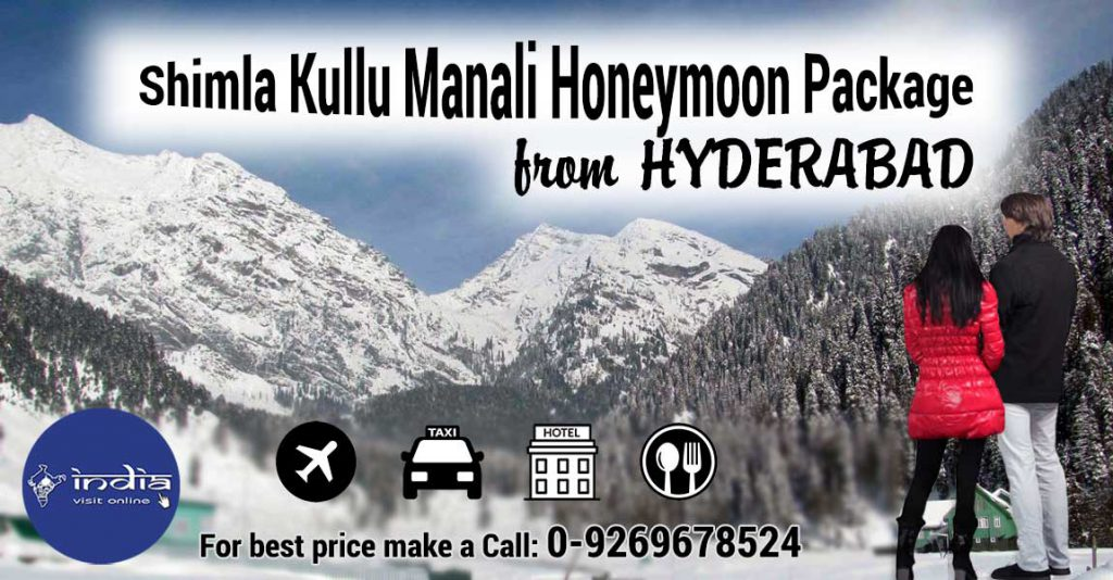 Shimla-Kullu-Manali-Honeymoon-Package-from-Hyderabad