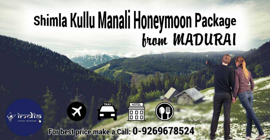 Shimla-Kullu-Manali-Honeymoon-Package-from-Madurai