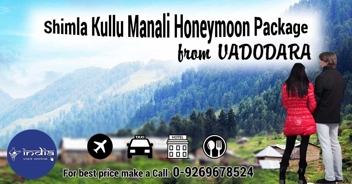 Manali Honeymoon Package from Vadodara