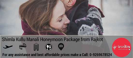 Shimla Manali Honeymoon Package from Rajkot