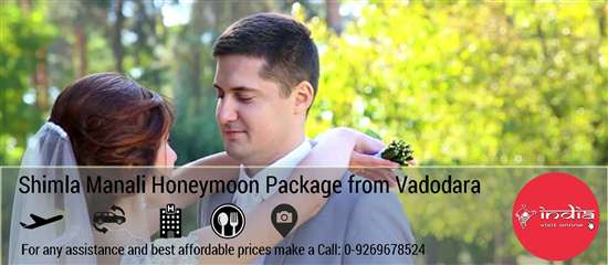 Shimla Manali Honeymoon Package from Vadodara