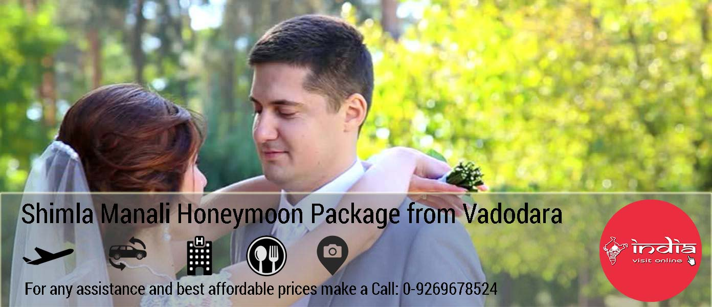 Manali Honeymoon Package from Vadodara