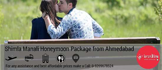 Shimla Manali Honeymoon Package from Ahmedabad