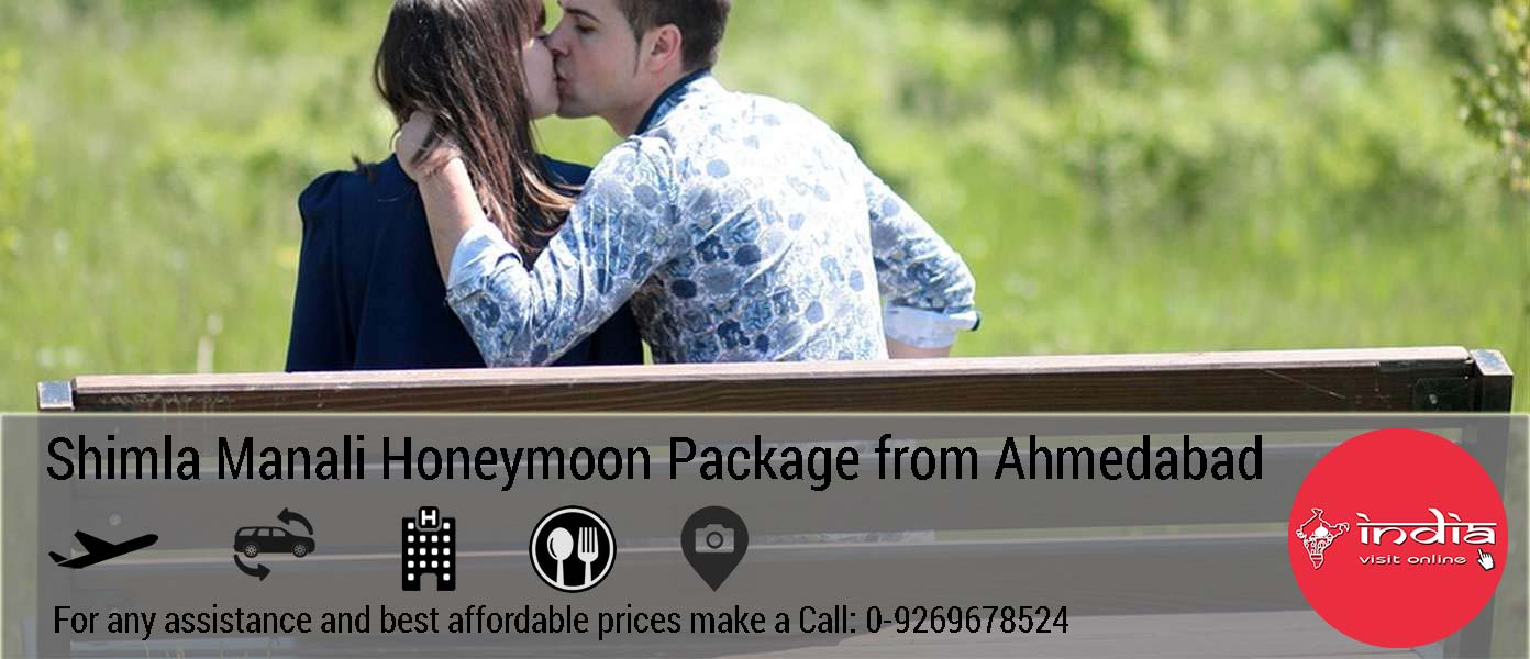 Manali Kullu Honeymoon Package from Ahmedabad