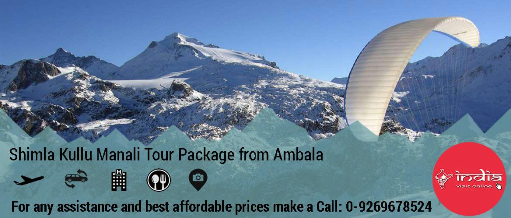 Shimla Kullu Manali Honeymoon Tour Package from Ambala