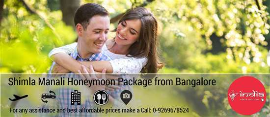 Shimla Manali Honeymoon Package from Bangalore