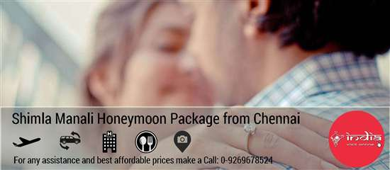 Shimla Manali Honeymoon Package from Chennai