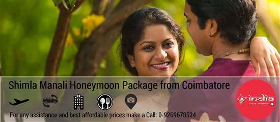 Shimla Manali Honeymoon Package from Coimbatore