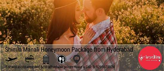 Shimla Manali Honeymoon Package from Hyderabad