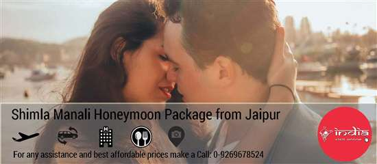Shimla Manali Honeymoon Package from Jaipur