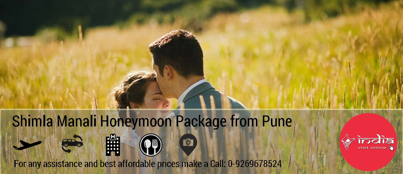 Shimla Kullu Manali Honeymoon Package from Pune