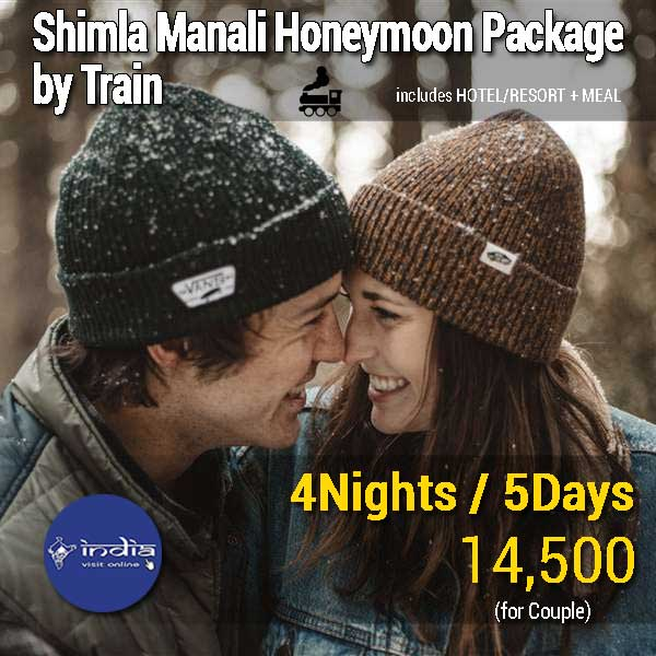 Shimla-Manali-Honeymoon-Package-by-Train
