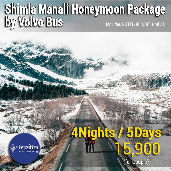 Shimla-Manali-Honeymoon-Package-by-Volvo-Bus