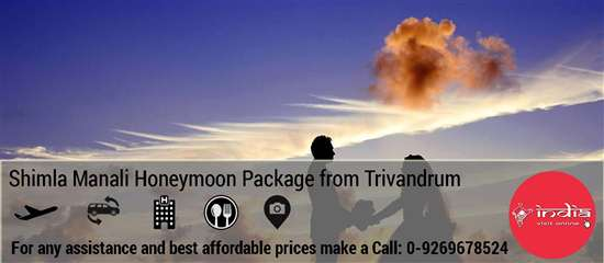 Shimla Manali Honeymoon Package from Trivandrum