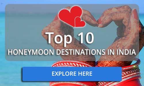 Top 10 Honeymoon Packages in India