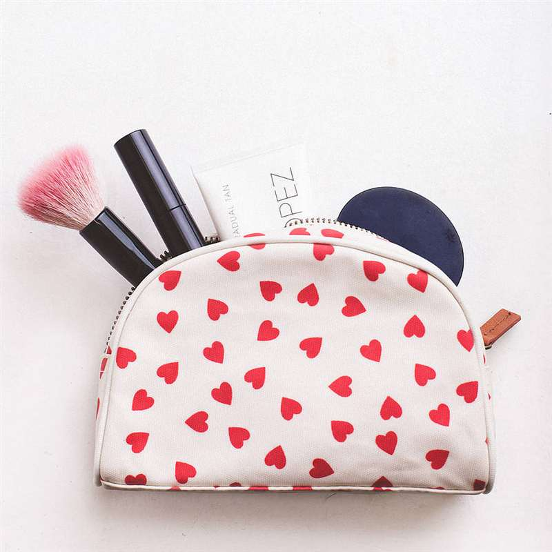 Wedding Date Make Up Bag