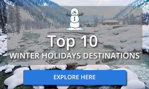 Top 10 Winters Holidays Destinations in India
