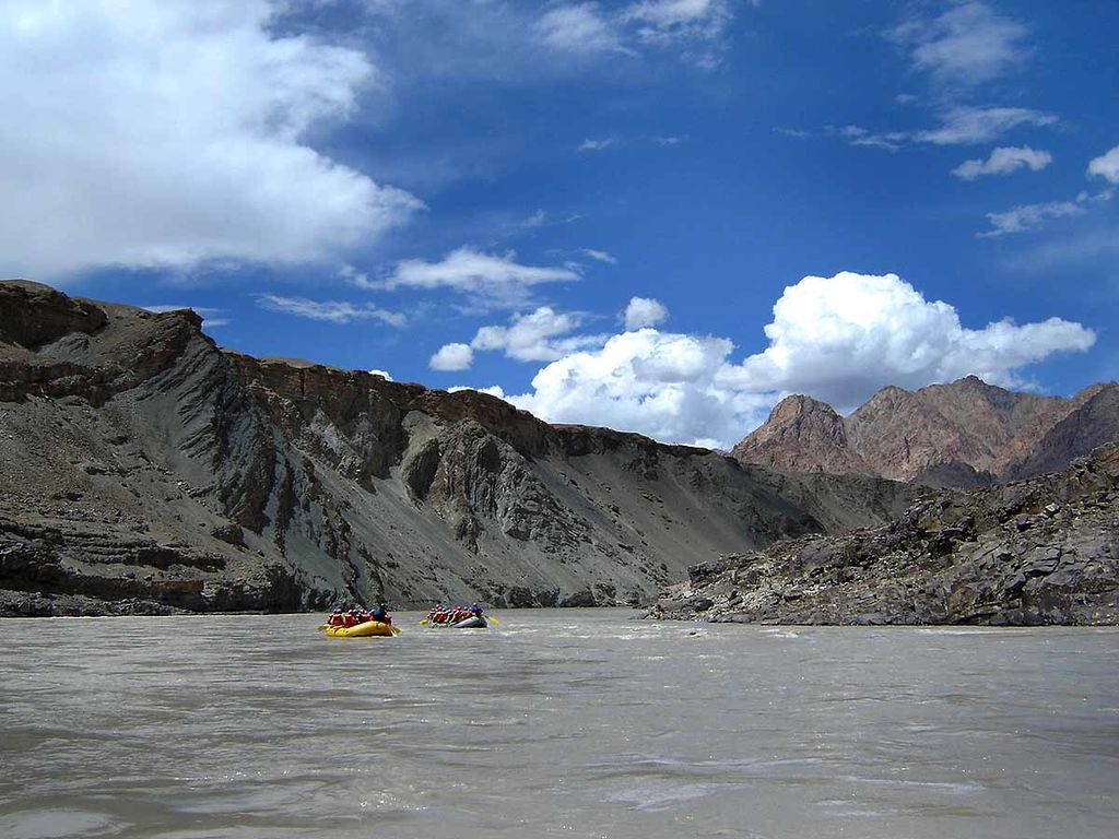 River Rafting on Zanskar