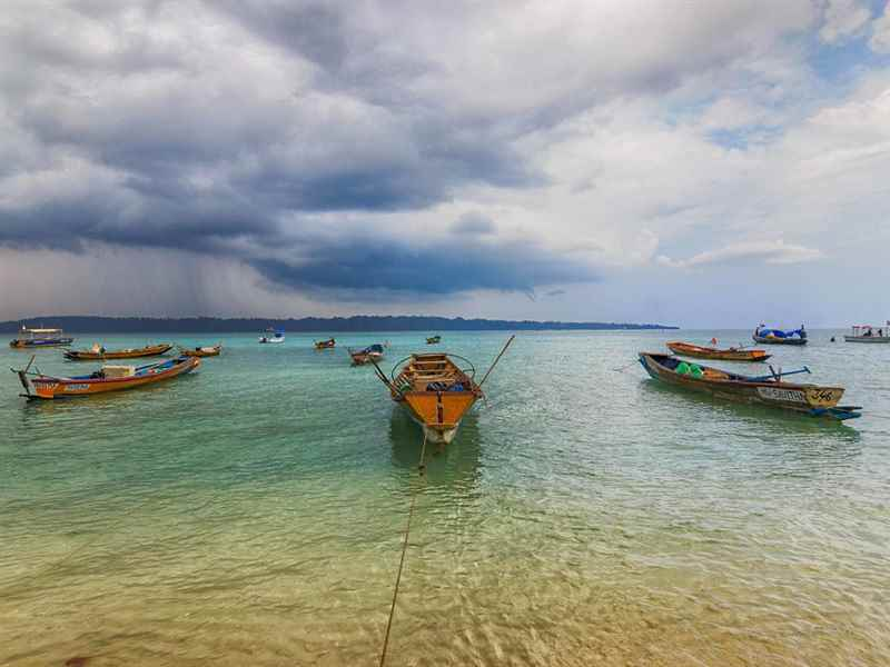 Andaman Boat Ride in India