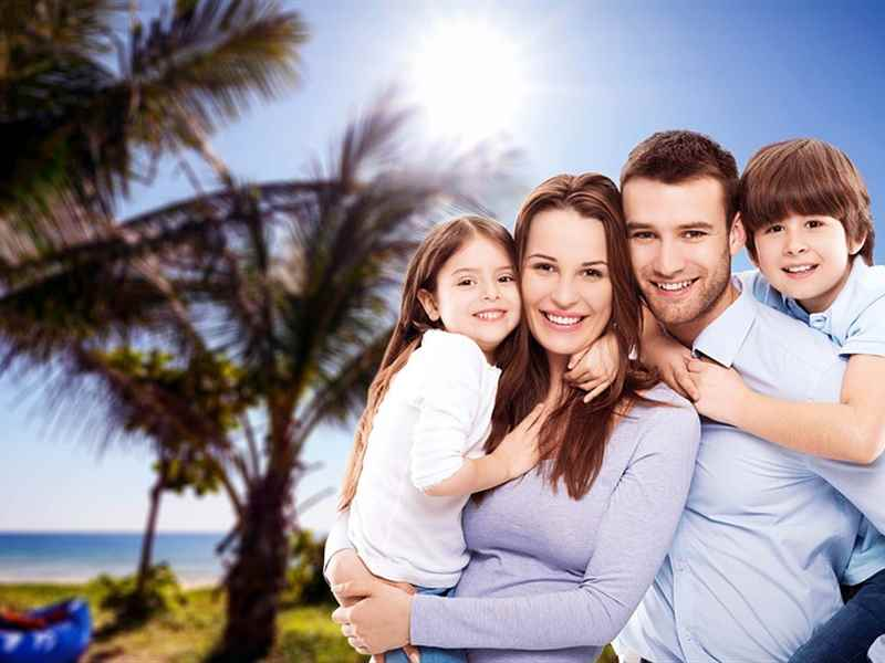 Plan a family vacation