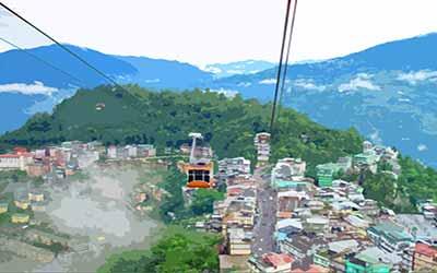 Gangtok During Monsoon